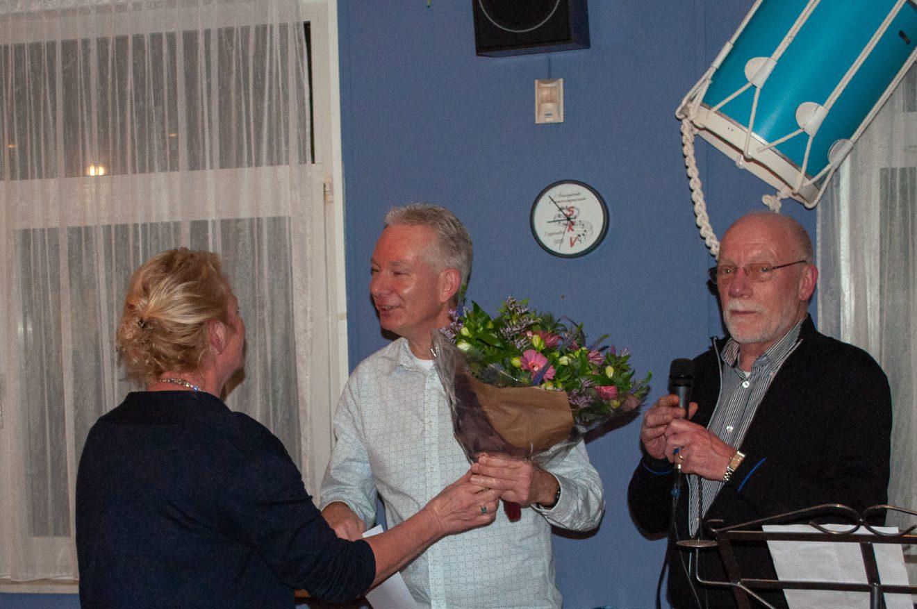Marko Janssen 40 jaar lid